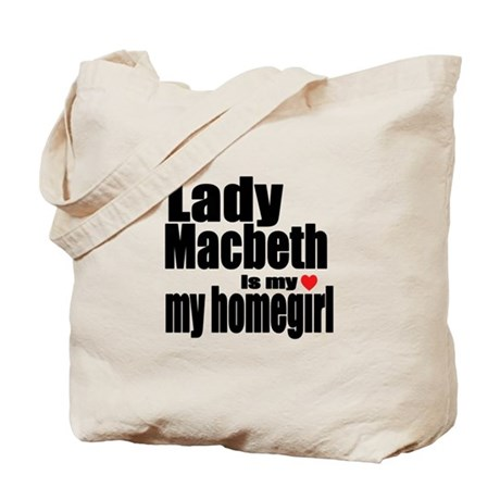 Lady M Tote Bag