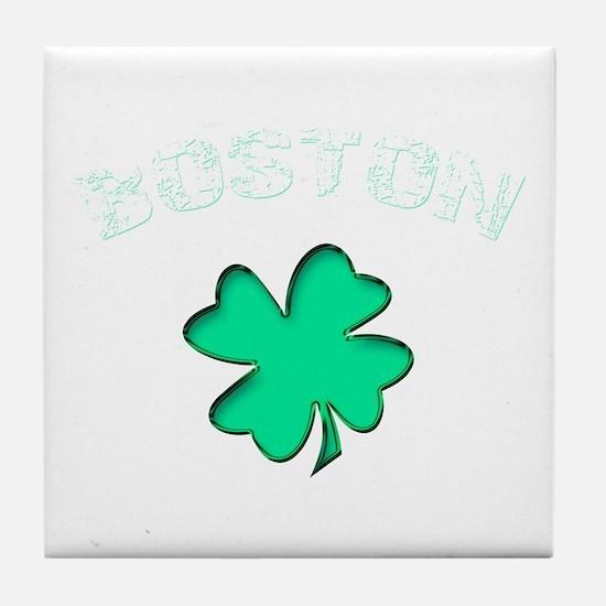 Boston Clover Tile Coaster