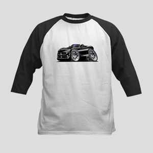 Viper Roadster Black Car Kids Baseball Jersey