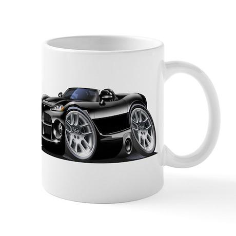 Viper Roadster Black Car Mug