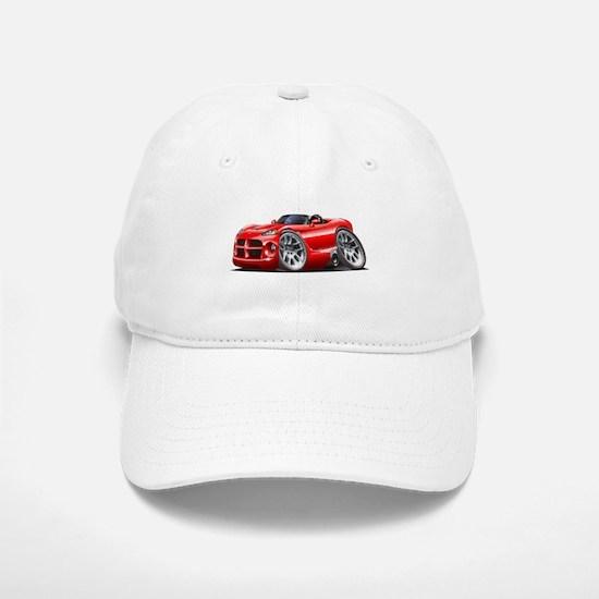 Viper Roadster Red Car Baseball Baseball Cap