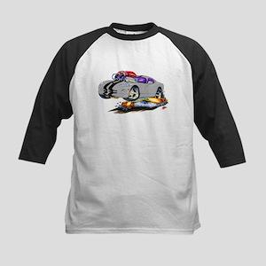 Viper Grey/Black Car Kids Baseball Jersey