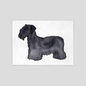 Cesky Terrier 5'x7'Area Rug