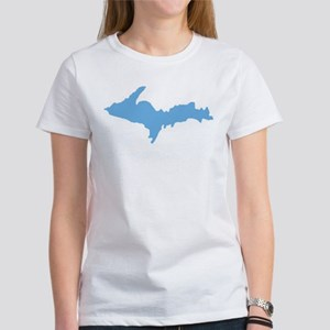 Women's Blue UP Tshirt