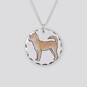 Chiuahua longhaired Necklace