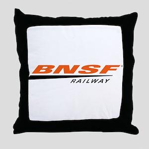 BNSF Railway Throw Pillow