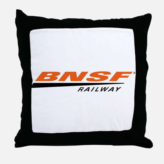 BNSF Railway Throw Pillow