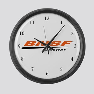 BNSF Railway Large Wall Clock