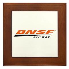 BNSF Railway Framed Tile