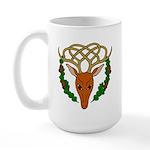 Celtic Stag Large Mug