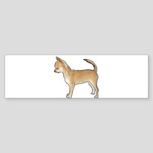 Chihuahua smooth coat Bumper Sticker