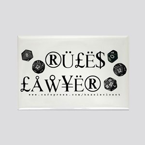 Rules Lawyer Rectangle Magnet