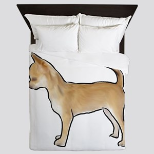 Chihuahua smooth coat Queen Duvet