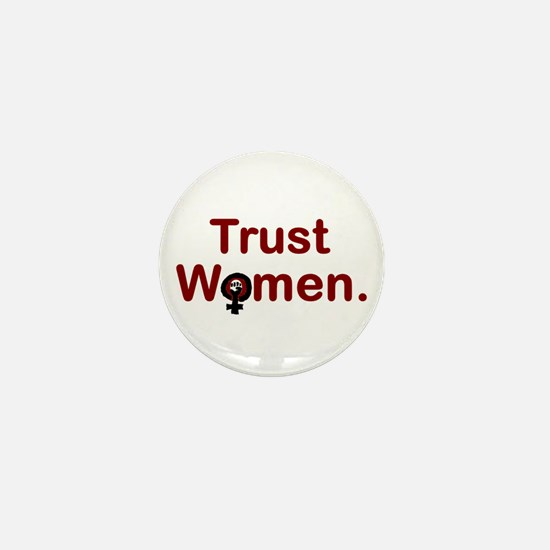 TRUST WOMEN Mini Button