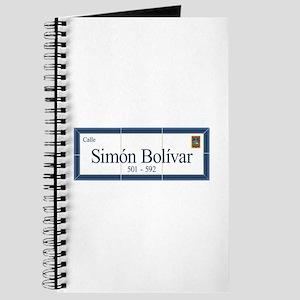 Simon Bolivar Street, Sucre, Bolivia Journal