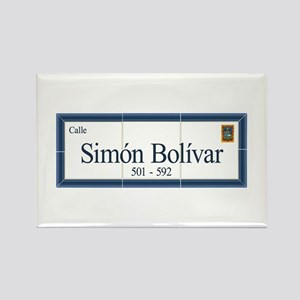 Simon Bolivar Street, Sucre, Bolivia Rectangle Mag