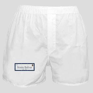 Simon Bolivar Street, Sucre, Bolivia Boxer Shorts