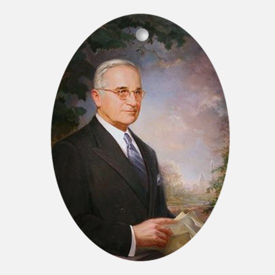 Harry Truman Christmas Ornament
