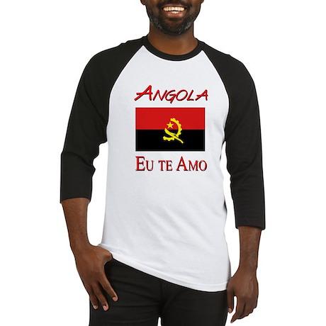 angola eu te amo - Baseball Jersey