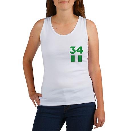 Team Nigeria - #34 Women's Tank Top