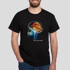 Heart Think MRI Dark T-Shirt