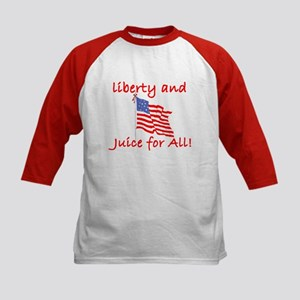 Liberty and Juice for All Kids Baseball Jersey