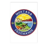 Montana Masons Postcards (Package of 8)