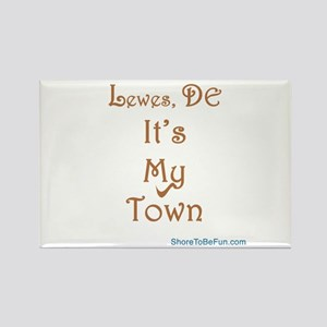 It's My Town Rectangle Magnet