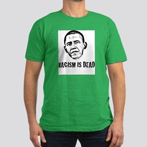 Racism Is Dead Men's Fitted T-Shirt (dark)