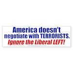 Liberal Left Terrorists (Bumper 50 pk)
