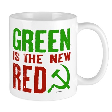 Green is the New Red Mug