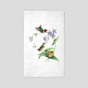 Hummingbirds Area Rug