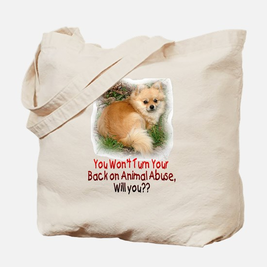 Don't turn your back Tote Bag