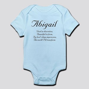 Abigail Rhyme Infant Bodysuit