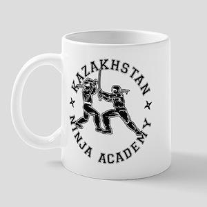 Kazakhstan Ninja Academy Mug