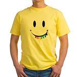 Smiley Juicy Rainbow Yellow T-Shirt