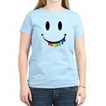 Smiley Juicy Rainbow Women's Light T-Shirt