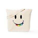 Smiley Juicy Rainbow Tote Bag