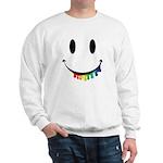 Smiley Juicy Rainbow Sweatshirt