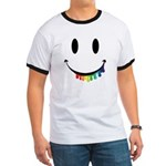 Smiley Juicy Rainbow Ringer T
