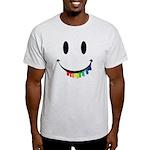 Smiley Juicy Rainbow Light T-Shirt