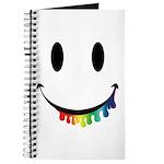 Smiley Juicy Rainbow Journal