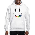 Smiley Juicy Rainbow Hooded Sweatshirt