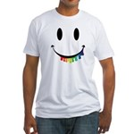 Smiley Juicy Rainbow Fitted T-Shirt