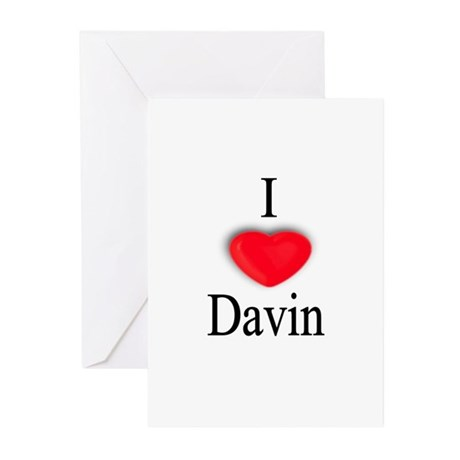Davin Greeting Cards (Pk of 10)