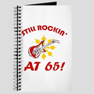 Rockin' 65th Birthday Journal