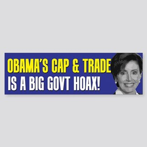 Obama's Cap and Trade Bumper Sticker