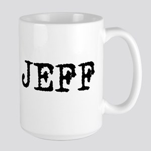 TEAM JEFF Large Mug