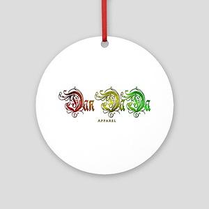 Dan DaDa Apparel Ornament (Round)
