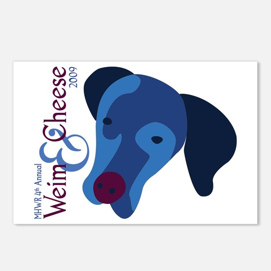2009 Weim and Cheese MHWR Postcards (Package of 8)